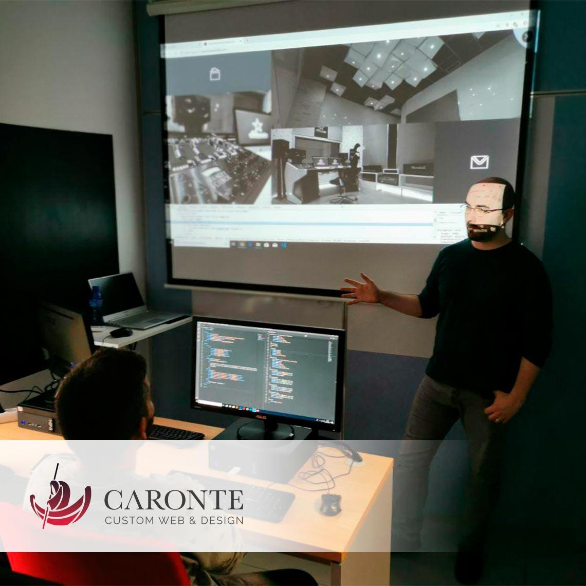 Formación Desarrollador Web :: Caronte Web Studio