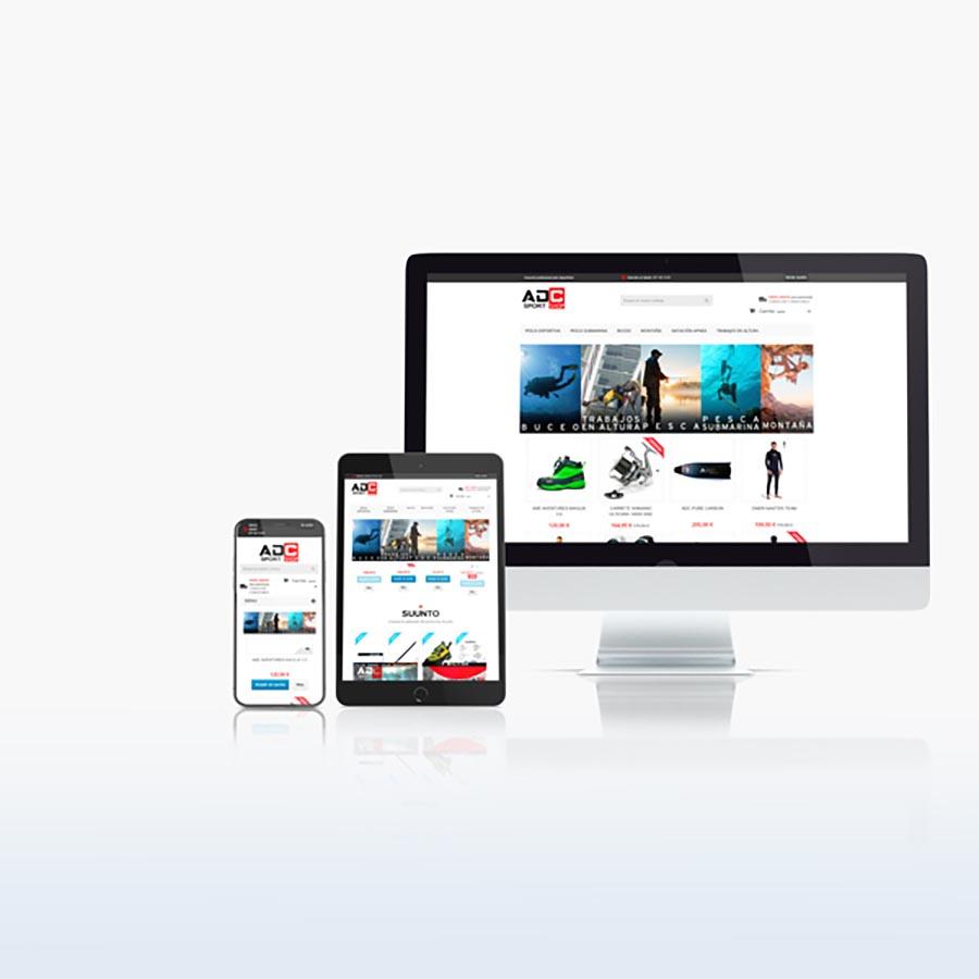 Caronte Web Studio - ADC SPORTSHOP