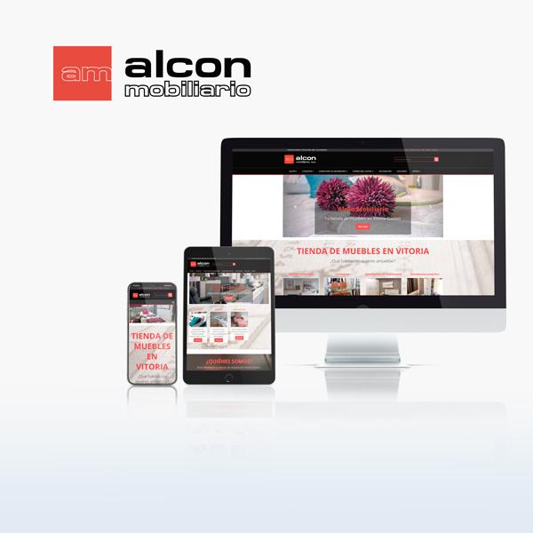 Caronte Web Studio - Alcon Mobiliario