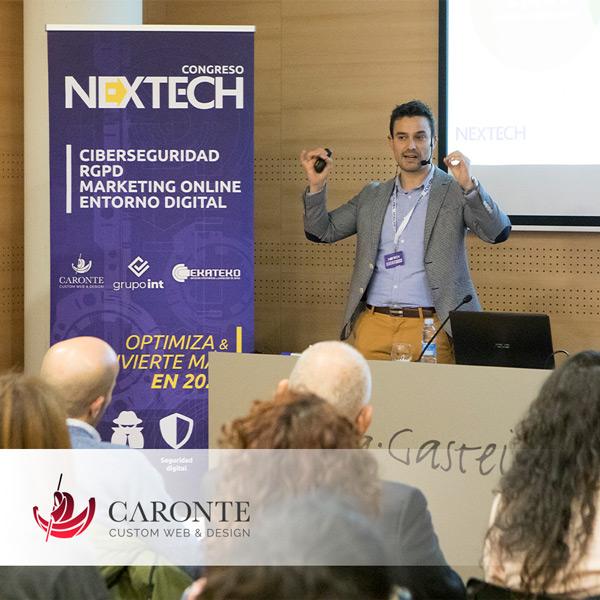 Ponencia en Nextech:: Caronte Web Studio