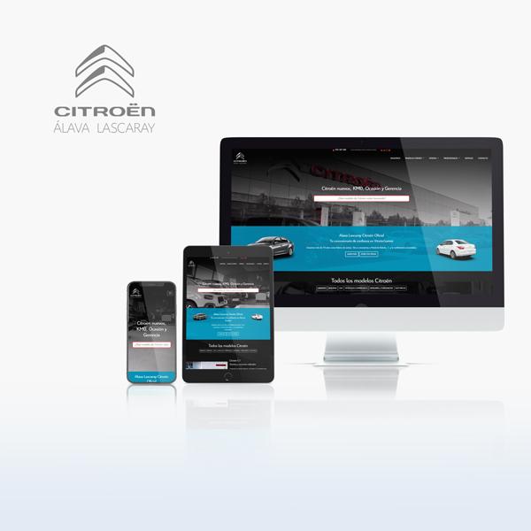 Caronte Web Studio - Alava Lazcaray-Citroen
