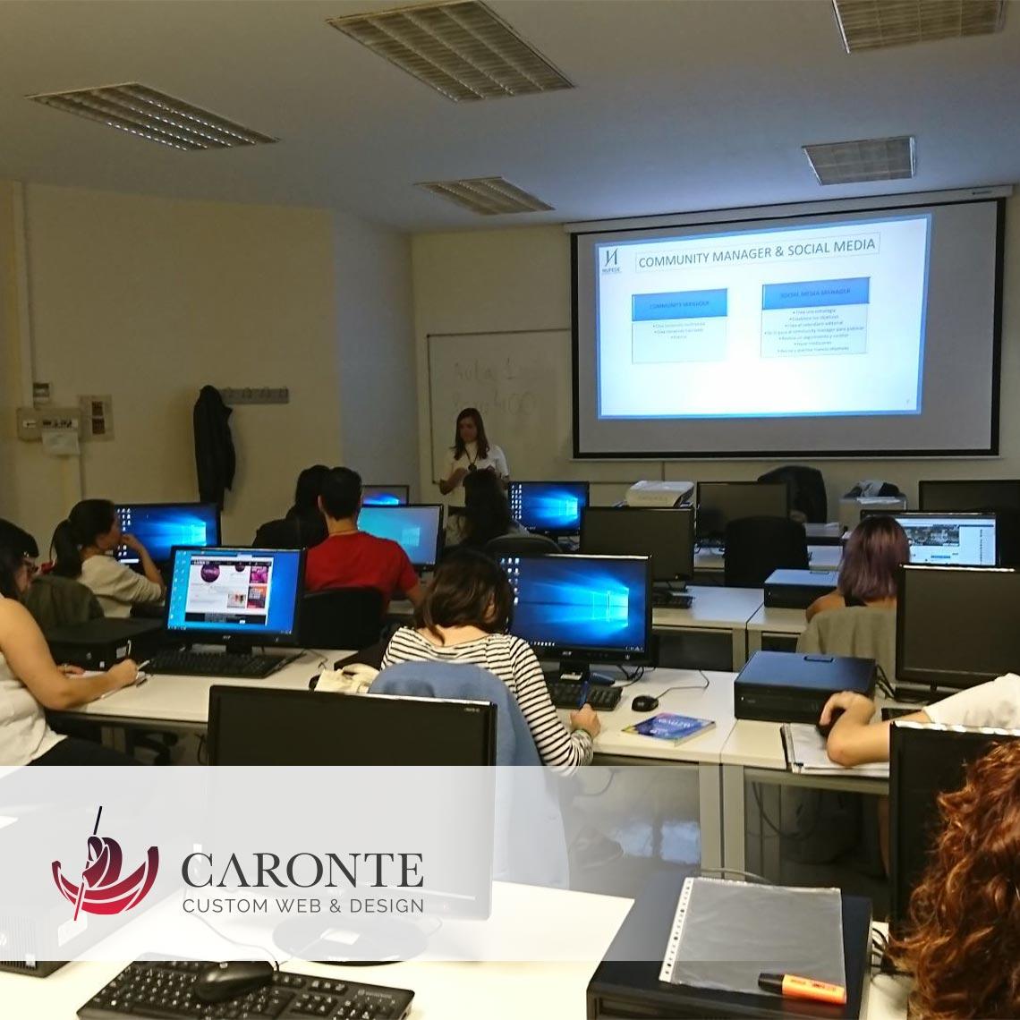 Formación Community Manager :: Caronte Web Studio