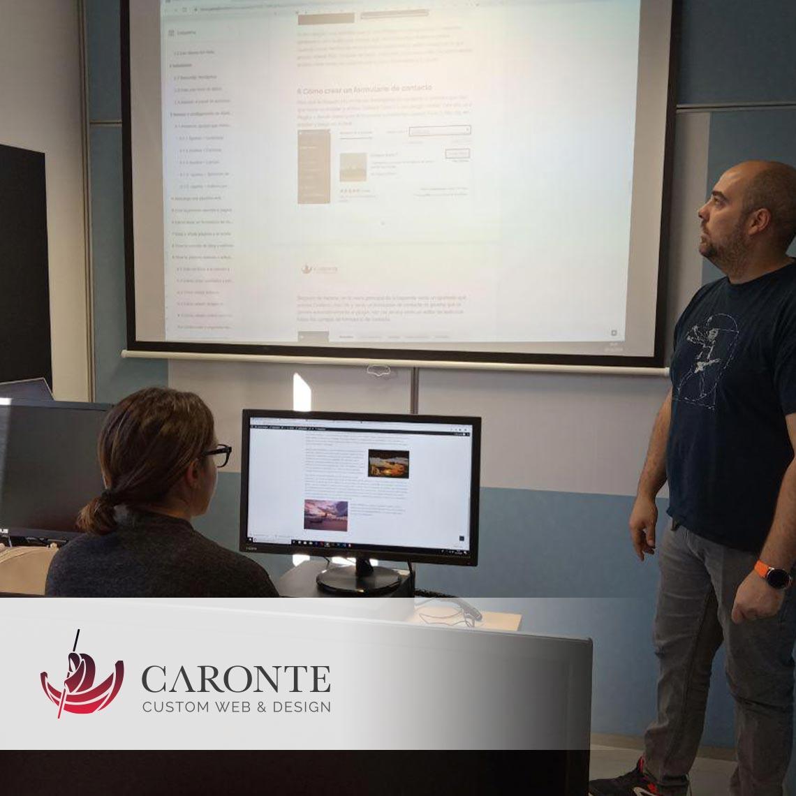 Formación Diseño gráfico :: Caronte Web Studio