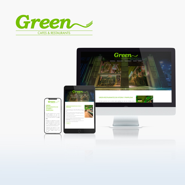Caronte Web Studio - Restaurantes Green